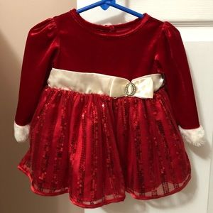 Other - LIKE NEW baby girl Christmas dress